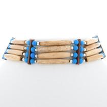 Native American Style Bone Choker 35882