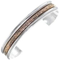 Western Gold Silver Bracelet 35883