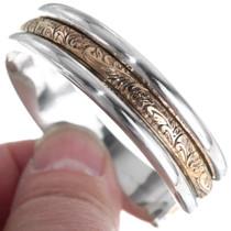 Sterling Silver Western Cuff Bracelet 35883