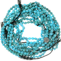 Sonoran Gold Turquoise Beads Untreated High Grade 35538