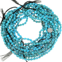 Gemmy Turquoise Nugget Beads Untreated 35539