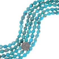 Natural Sonoran Gold Turquoise Beads 35539