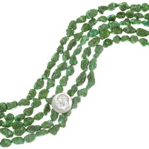 Natural Emerald Valley Turquoise Beads 35540