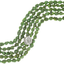 Emerald Valley Green Turquoise Nugget Beads 35541