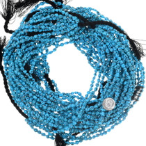 High Grade Blue Turquoise Nuggets Bead Strand 35543