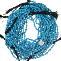 Untreated Kingman Turquoise Beads 35544