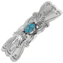 Native American Turquoise Hair Barrette 35886