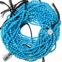 Natural Untreated Turquoise Beads 35551