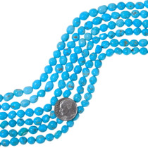 Natural Untreated Turquoise Beads 35552