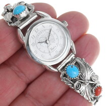 Sleeping Beauty Turquoise Watch Jewelry 35894