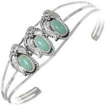Navajo Green Turquoise Bracelet 35905