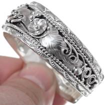 Sterling Silver Cuff Bracelet 35906
