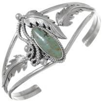 Green Turquoise Cuff Bracelet 35907