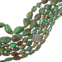 Graduated Green Turquoise Beads 35560