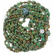 Chunky Turquoise Necklace Beads 35560