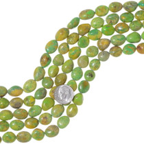 Yellow Green Emerald Valley Turquoise Beads 35561