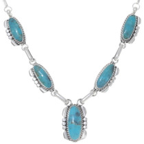 Native American Turquoise Necklace 35920