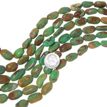 Graduated Turquoise Nugget Beads 35564