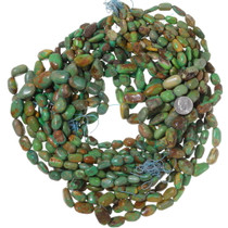 Green Turquoise Beads Necklace Stringing 35564