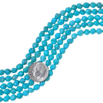 Blue Natural Turquoise Beads 35567