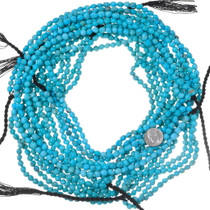 Natural Kingman Turquoise Nuggets Bead Strand 35567