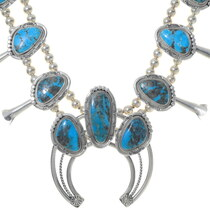 High Grade Ithaca Peak Turquoise Necklace 35922