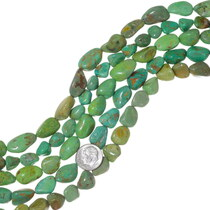 Chunky Green Turquoise Beads 35568