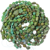 Green Turquoise Beads Chunky Rounded Nuggets 35569
