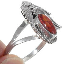 Navajo Spiny Oyster Ladies Ring 35927