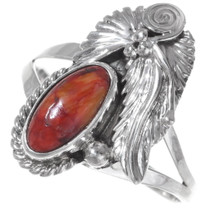Sterling Silver Spiny Oyster Ring 35927