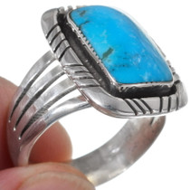 Sterling Silver Turquoise Ring 35930