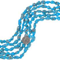 Natural Kingman Turquoise Beads 31916
