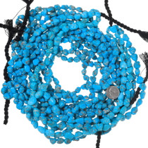 High Grade Untreated Turquoise Nugget Beads 31916