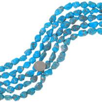 Natural Turquoise Beads Kingman Arizona Nuggets 31916