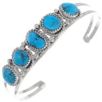 Ladies Turquoise Cuff Bracelet 35936