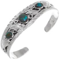 Ithaca Peak Turquoise Cuff Bracelet 35937