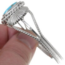 Sterling Silver Turquoise Western Cuff Bracelet 35940
