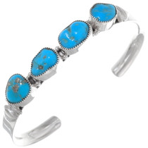 Natural Turquoise Nugget Bracelet 35943