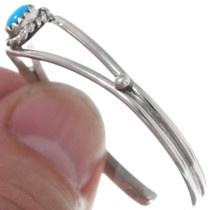 Child's Silver Turquoise Cuff Bracelet 35946