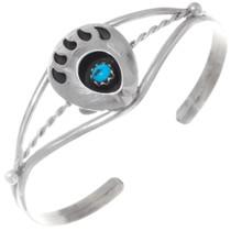 Turquoise Bear Paw Bracelet 35948
