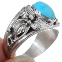 Southwest Sterling Silver Turquoise Ring 35957