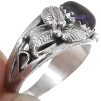Amethyst Silver Ladies Ring 35958
