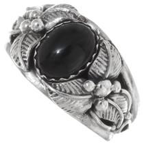 Native American Black Onyx Ring 35960