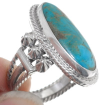 Sterling Silver Turquoise Ring 35965