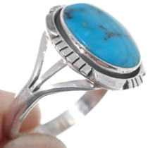 Kingman Turquoise Sterling Silver Ring 35970