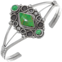 Green Turquoise Ladies Cuff Bracelet 38028