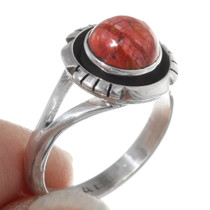 Native American Coral Ring 38030