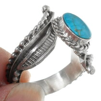 Navajo Turquoise Ladies Ring 38035