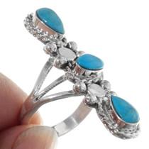 Native American Ladies Turquoise Ring 38043