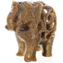 Stone Elephant Tabletop Sculpture 38047